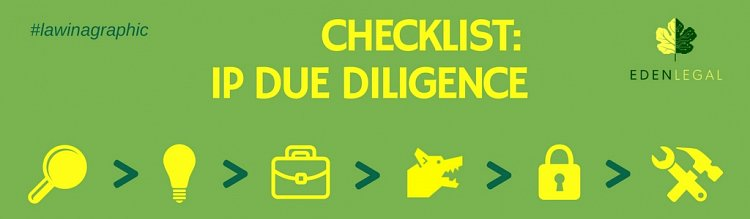 Infographic - IP Due Diligence Checklist